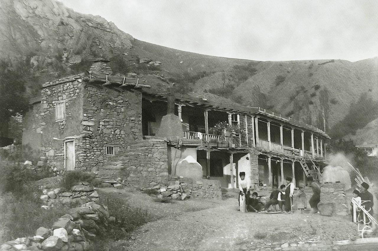 Деревенский дом, деревня Шума, Алуштинский регион.. 1920