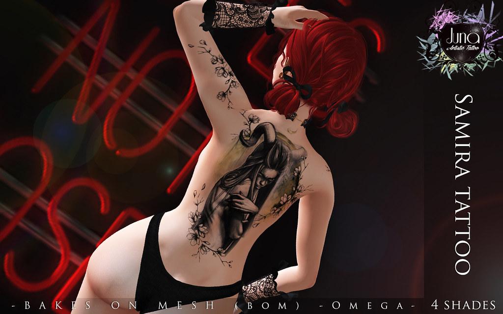 Samira tattoo