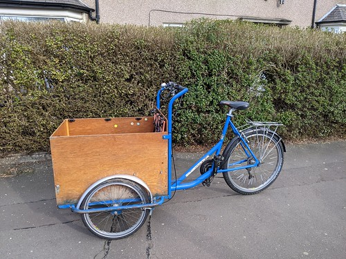 Customer's cargo trike for sale
