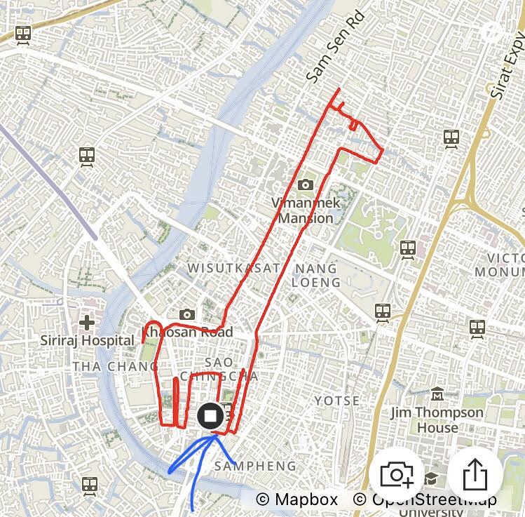 Giraffe route