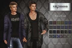 KiB Designs - Raoul Coat @101L 19th March