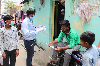 Distributing Pamphlets  in the Community 1 | by Bhopal Medical Appeal