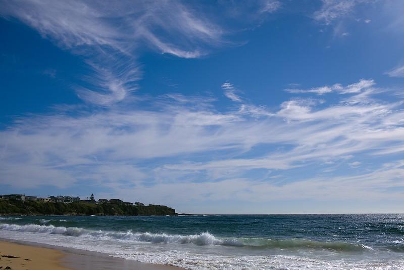 Fine morning on Warrain Beach