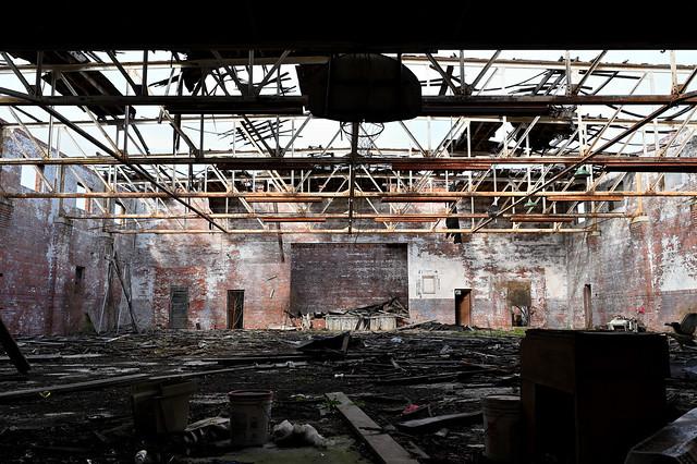 Ruined Armory Interior