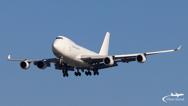TLV - CAL Cargo Airlines Boeing 747-400F 4X-ICA