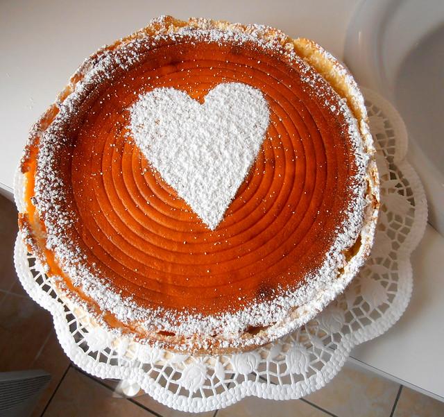 tarte au fromage blanc à l'Alsacienne fait maison
