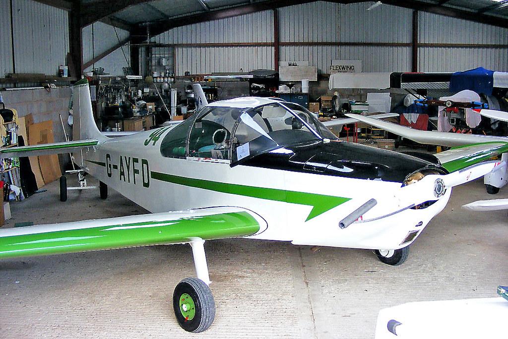 G-AYFD Rollason Druine D-62B Condor