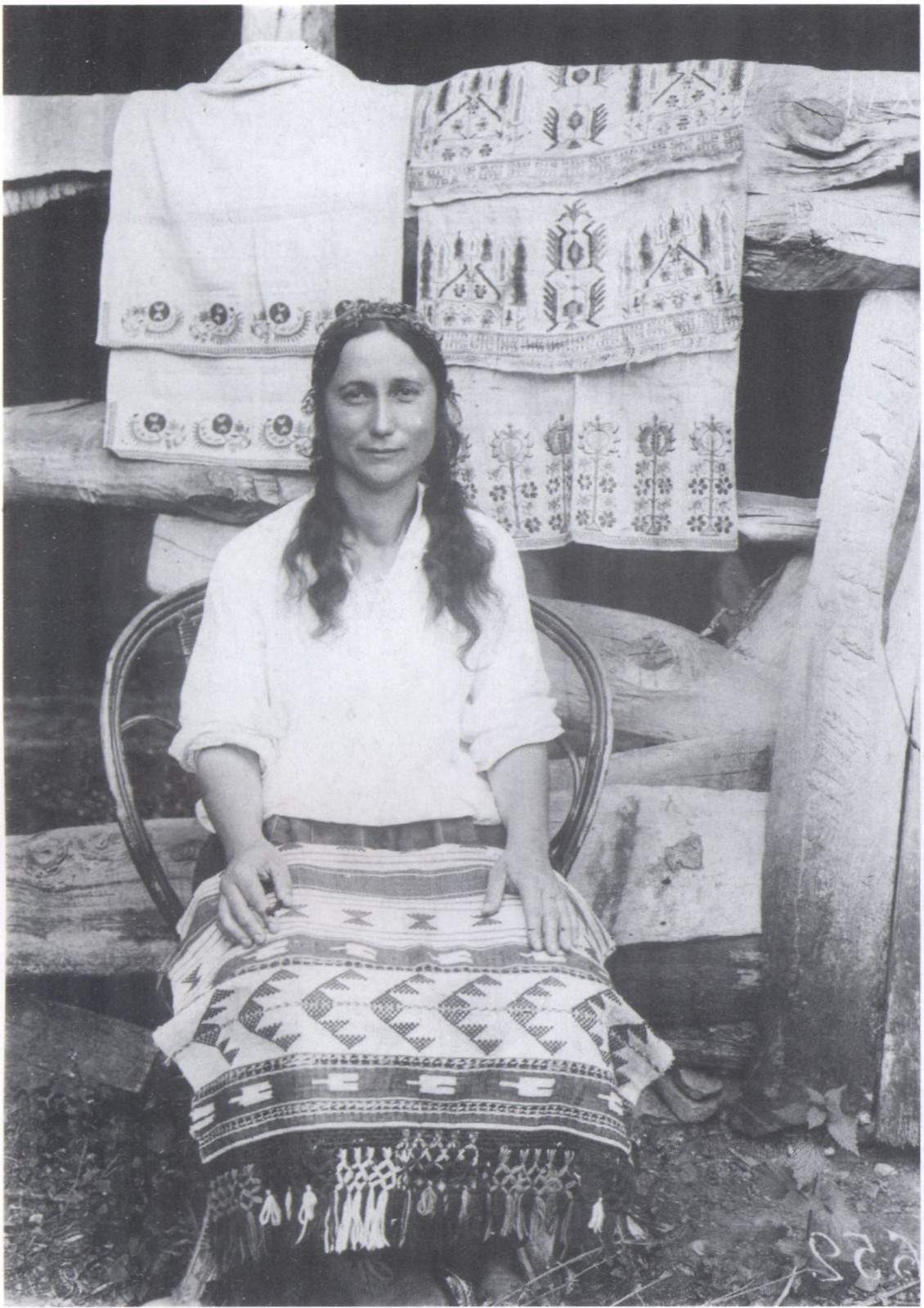 Ковровщица. Бахчисарай. 1920