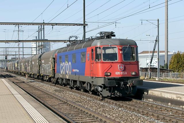 SBB Re 6/6 620 072 Pratteln