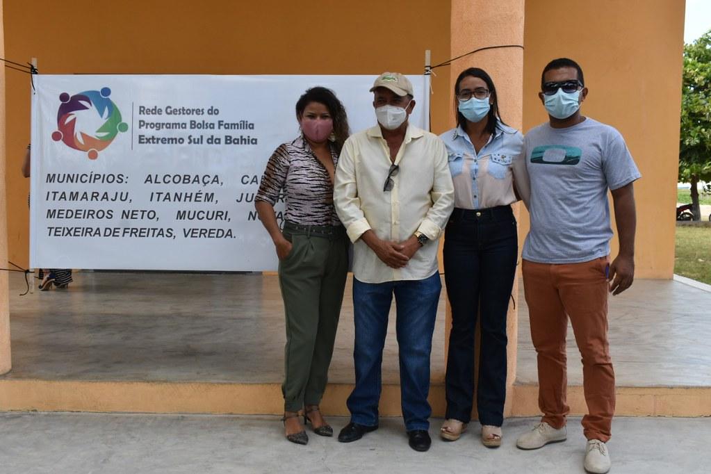 Encontro em Caravelas dos gestores do Bolsa Família no extremo sul Bahia (9)