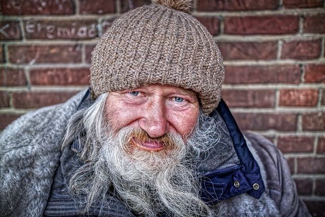 62 YEARS OLD. HOMELESS.