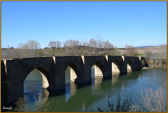 Puente de Briñas (La Rioja, España, 13-3-2021)