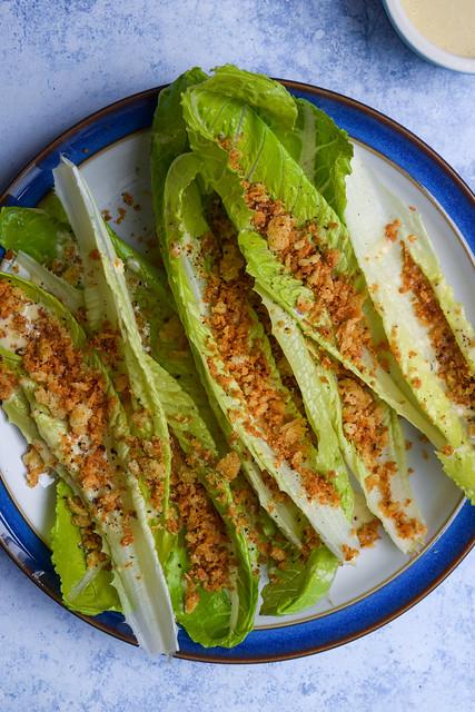 Caesar Salad Leaves