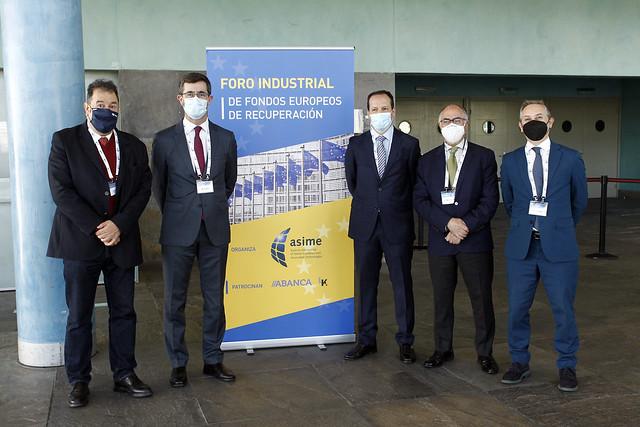 I Foro Industrial Fondos Europeos de Recuperación