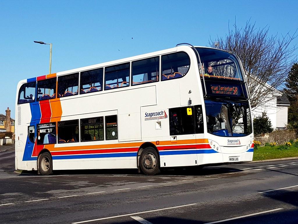 Stagecoach Devon on 5B