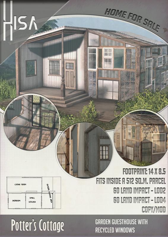 HISA - Potter's Cottage