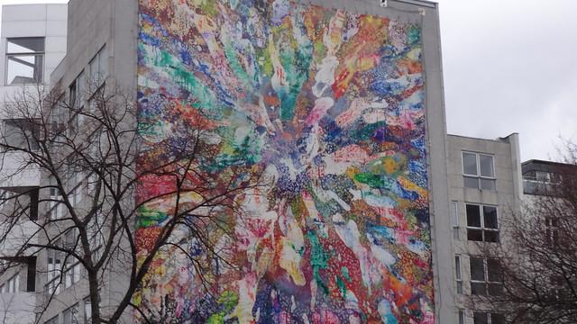 2014/15 Berlin Adanzé Wandbild von Christian Awe B1 Hauptstraße 117 in 10827 Schöneberg