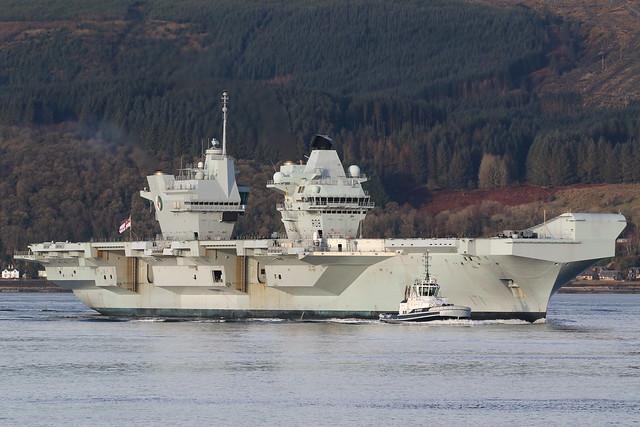 HMS Queen Elizabeth R08
