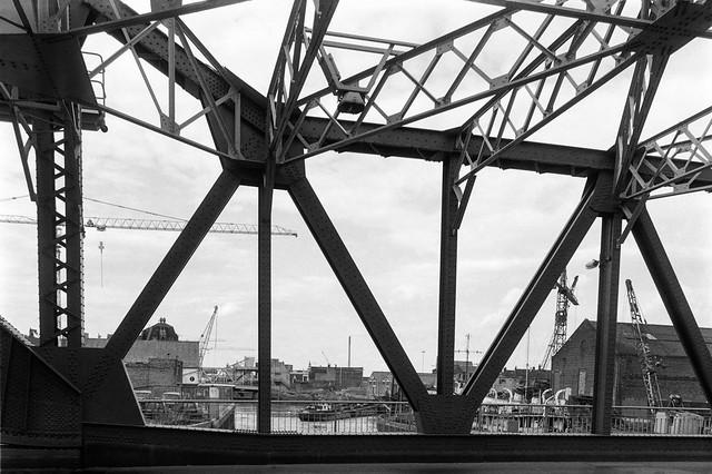 Drypool Bridge, River Hull, Hull, 1989 89-8e-52