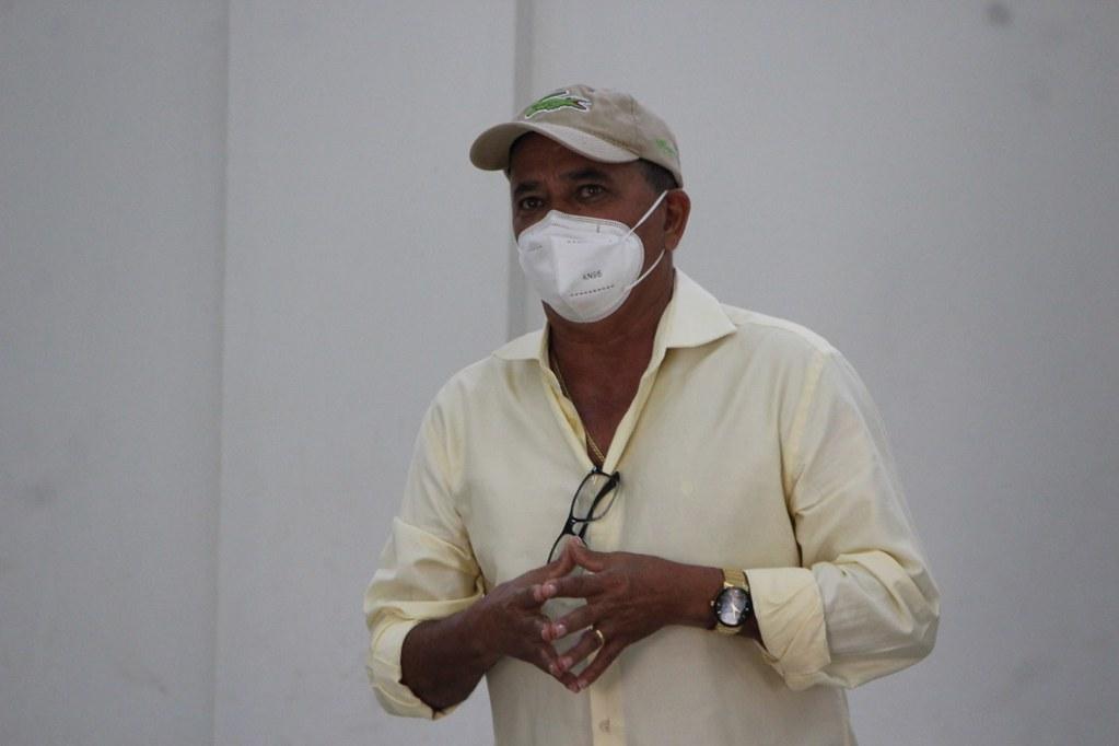 Silvio Ramalho, prefeito de Caravelas