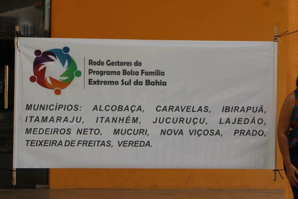 Municípios participantes do encontro em Caravelas