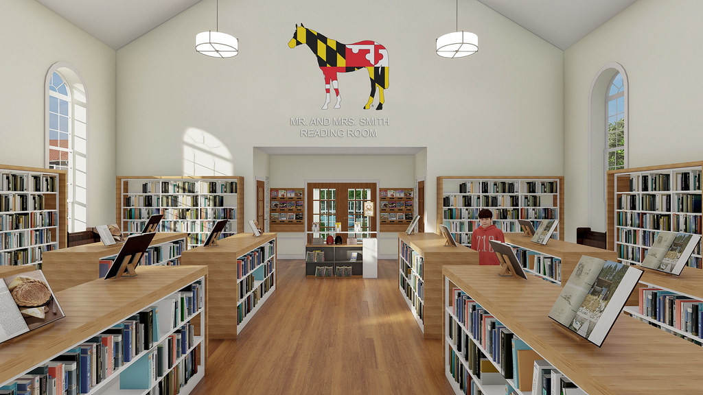 Maryland Horse Library and Education Center rendering