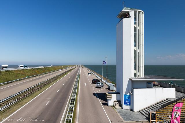 Vlietermonument, Afsluitdijk, Netherlands