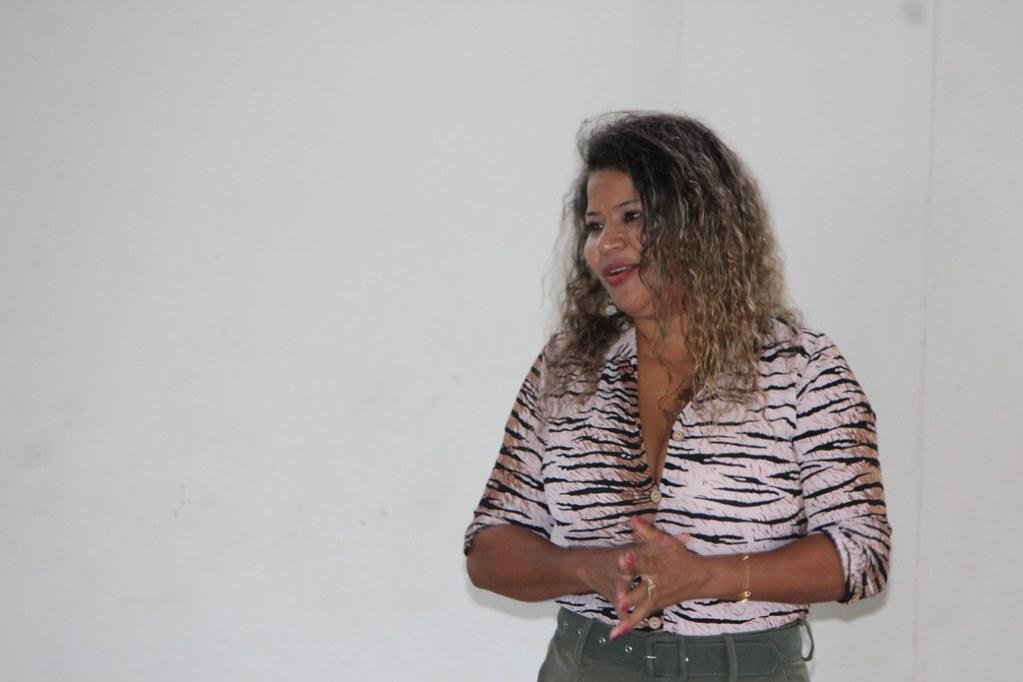 Marilene Figueredo, gestora do CadÚnico-PBF