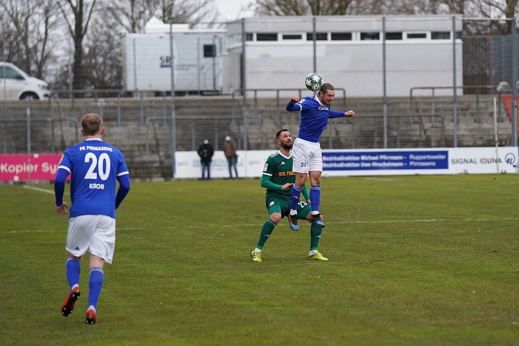13.03.2021 | Saison 2020/21 | FC 08 Homburg | FK Pirmasens