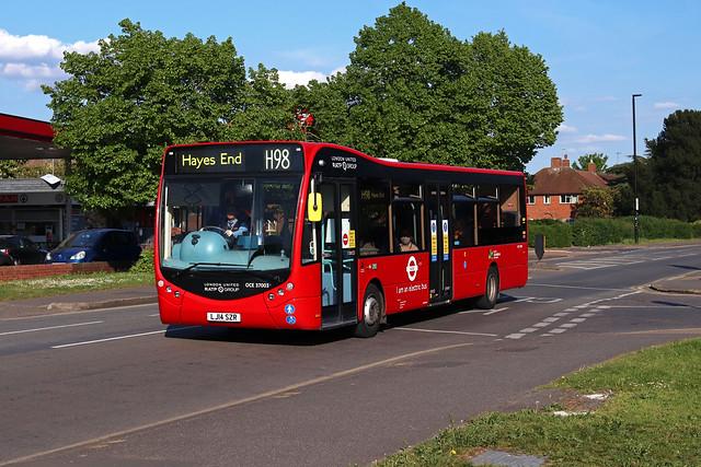 Route H98, London United, OCE37003, LJ14SZR