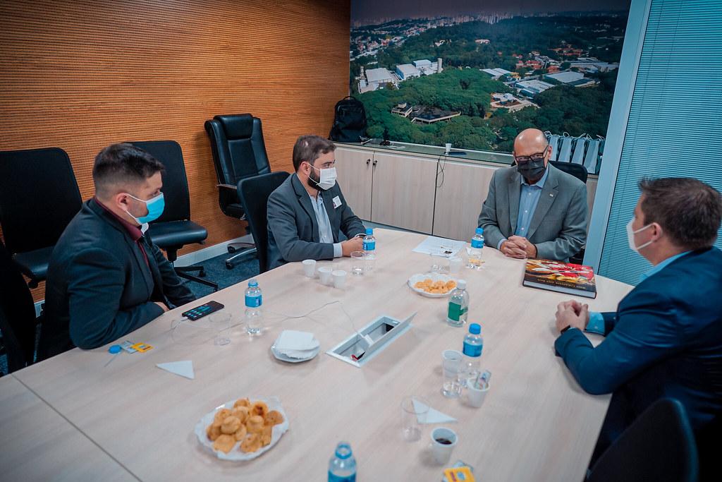 11-03-2021 - Presidente Gabriel Souza visita instituto Butantan
