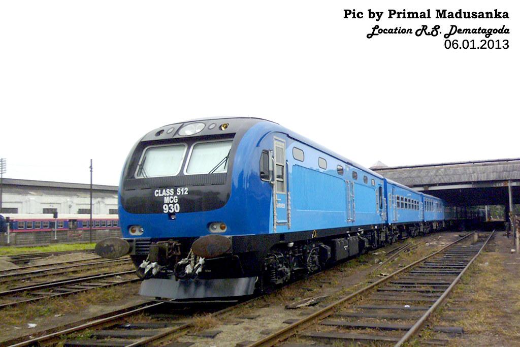 S12 930 at R.S. Dematagoda in 06.01.2013 by Primal Madusanka