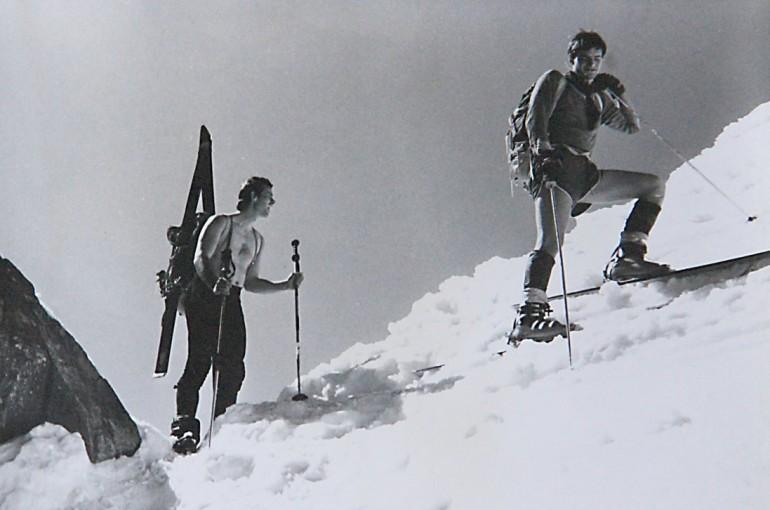 V Tatrách na trenkovém sněhu