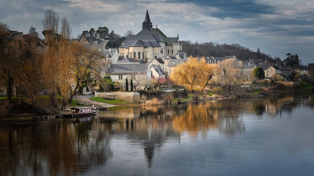 Candes-Saint-Martin et sa collégiale