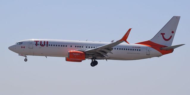 C-FLSW | TUI Airlines Netherlands | 737-8HX | Lanzarote/ACE