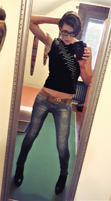 Welcome to my jeans club...