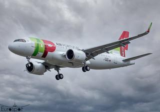 F-WWDN / CS-TVI Airbus A320-251N Air Portugal s/n 10338 - First flight * Toulouse Blagnac 2021 *