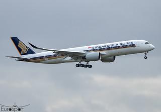 F-WZGC / 9V-SHT Airbus A350-941 Singapore Airlines s/n 464 * Toulouse Blagnac 2020 *