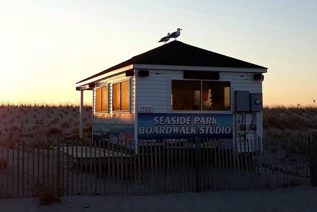 Seaside Park Boardwalk Studio..FM 1057 The HAWK.