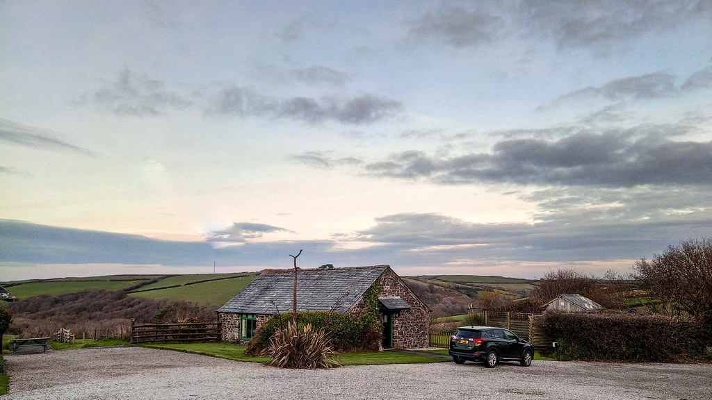 Our CSMA holiday cottage, Treworgie Barton Cottages, Cornwall 2019