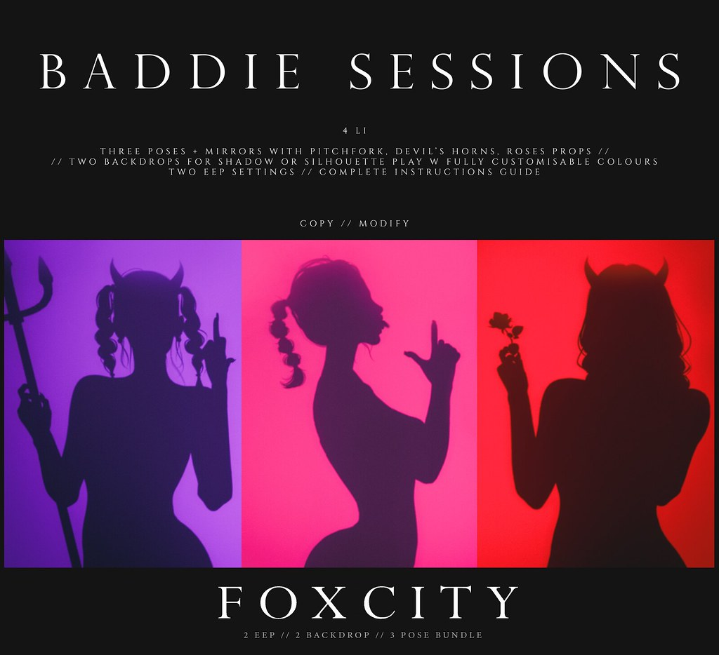 FOXCITY. Baddie Sessions Bundle