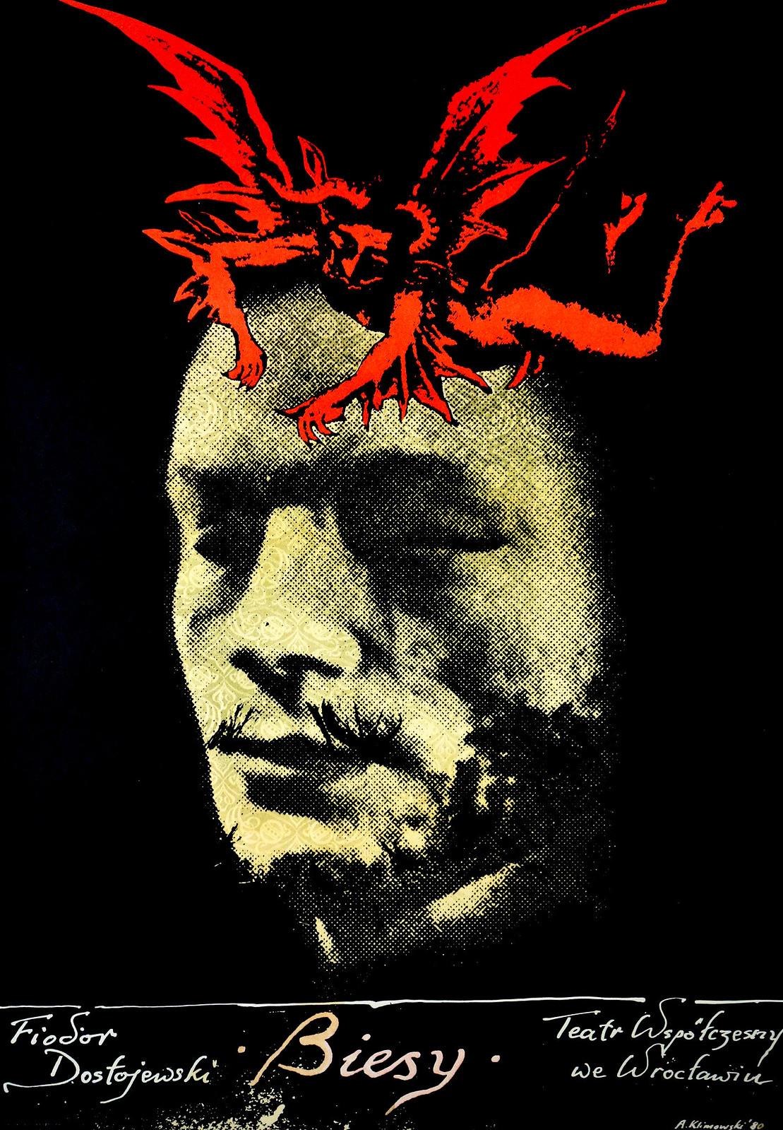 "Andrzej Klimowski - Fyodor Dostoevsky's ""Demons,"" 1980"