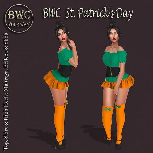 BWC - FabFree St. Patty's Day Hunt