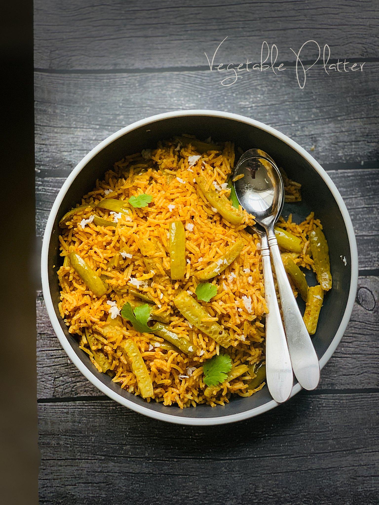 Instant Pot Tendli Bhaat