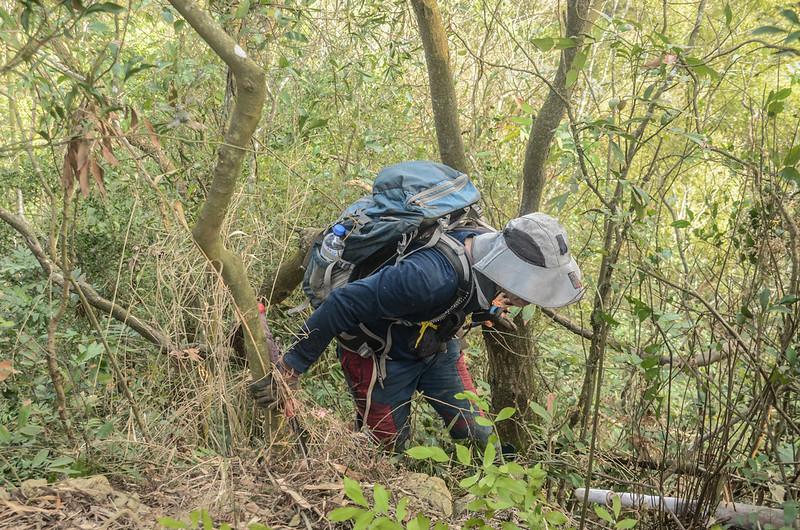 陡峭危稜路段 (1)