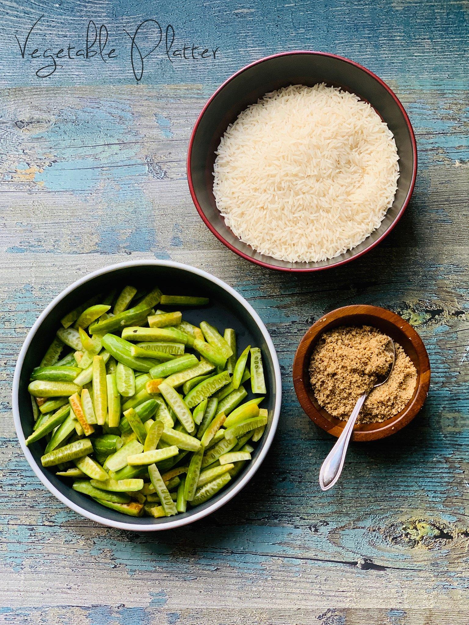 Tendli Bhaat Ingredients