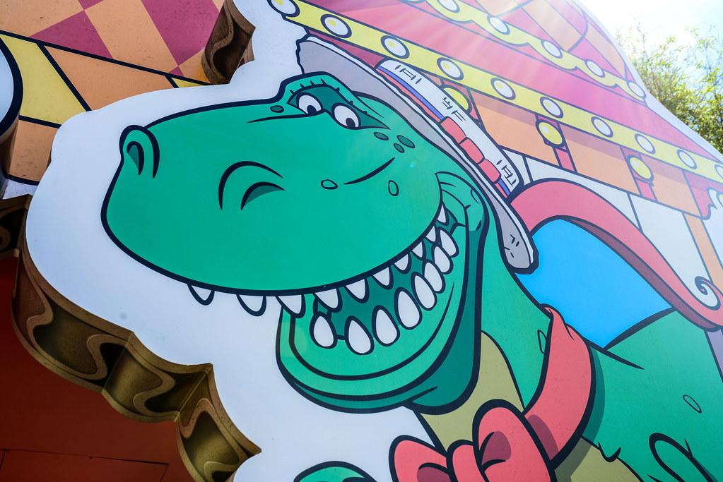 Rex Toy Story Mania DHS