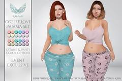 [Ari-Pari] Coffee Love Pajama Set