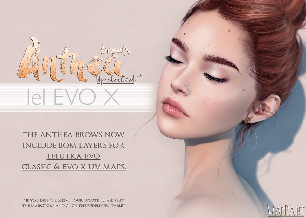 Anthea brows – Lel EvoX Update!