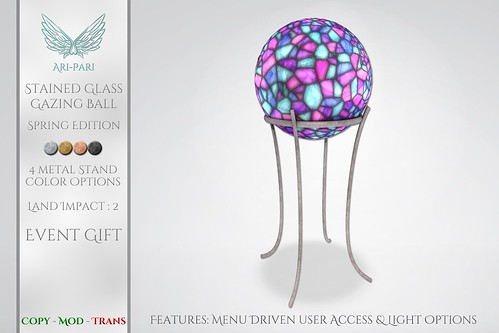 [Ari-Pari] Gazing Ball - Spring Edition
